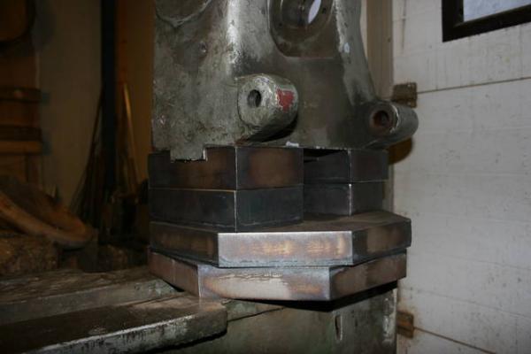 foto van de verhoging van de kop van gibas