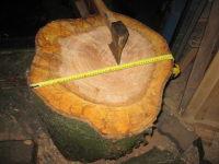 foto van hout splijten